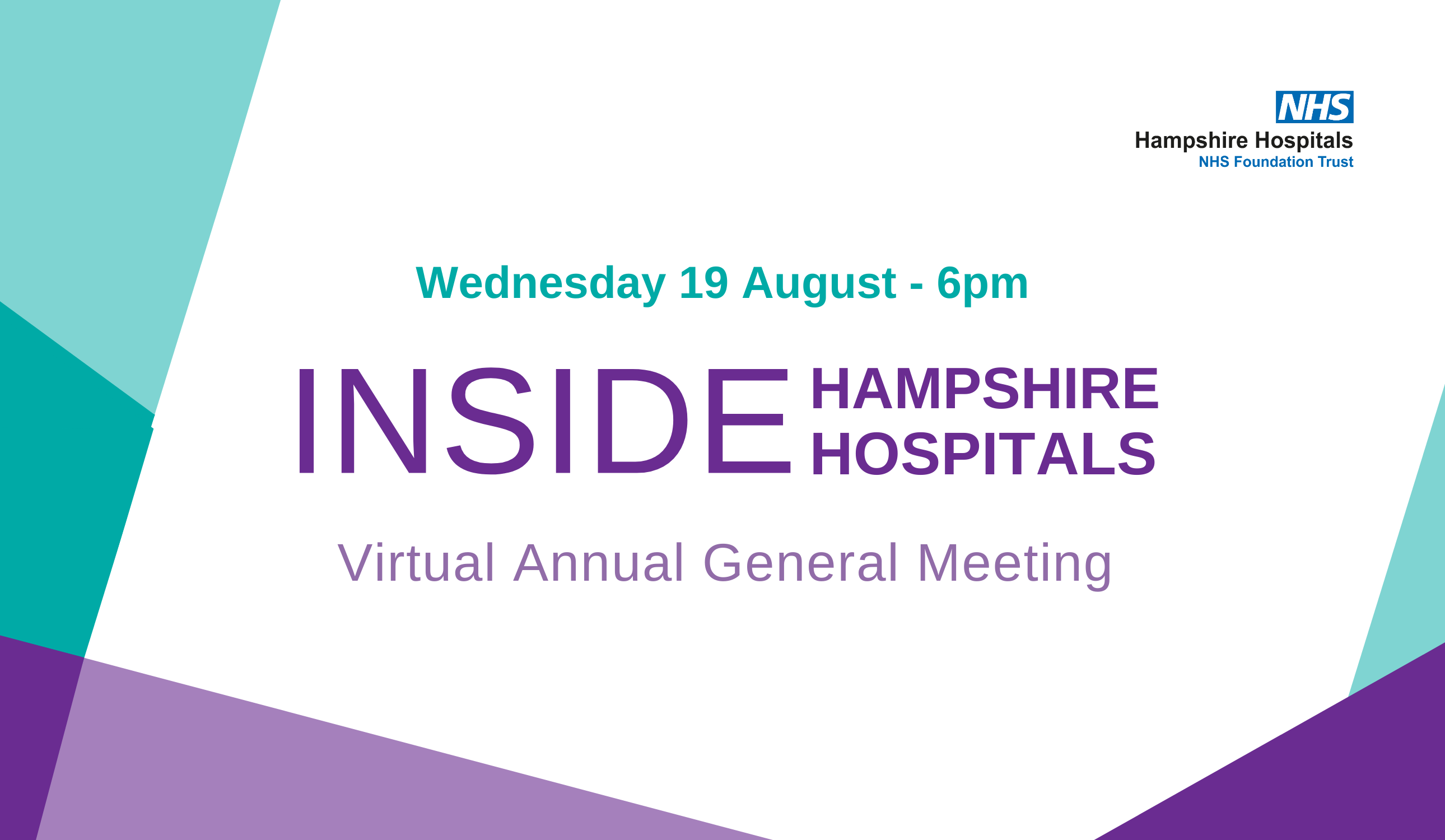 Inside Hampshire Hospitals: Annual General Meeting